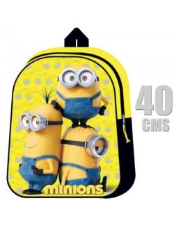 Ghiozdan scoala Minions 40*29*12 cm