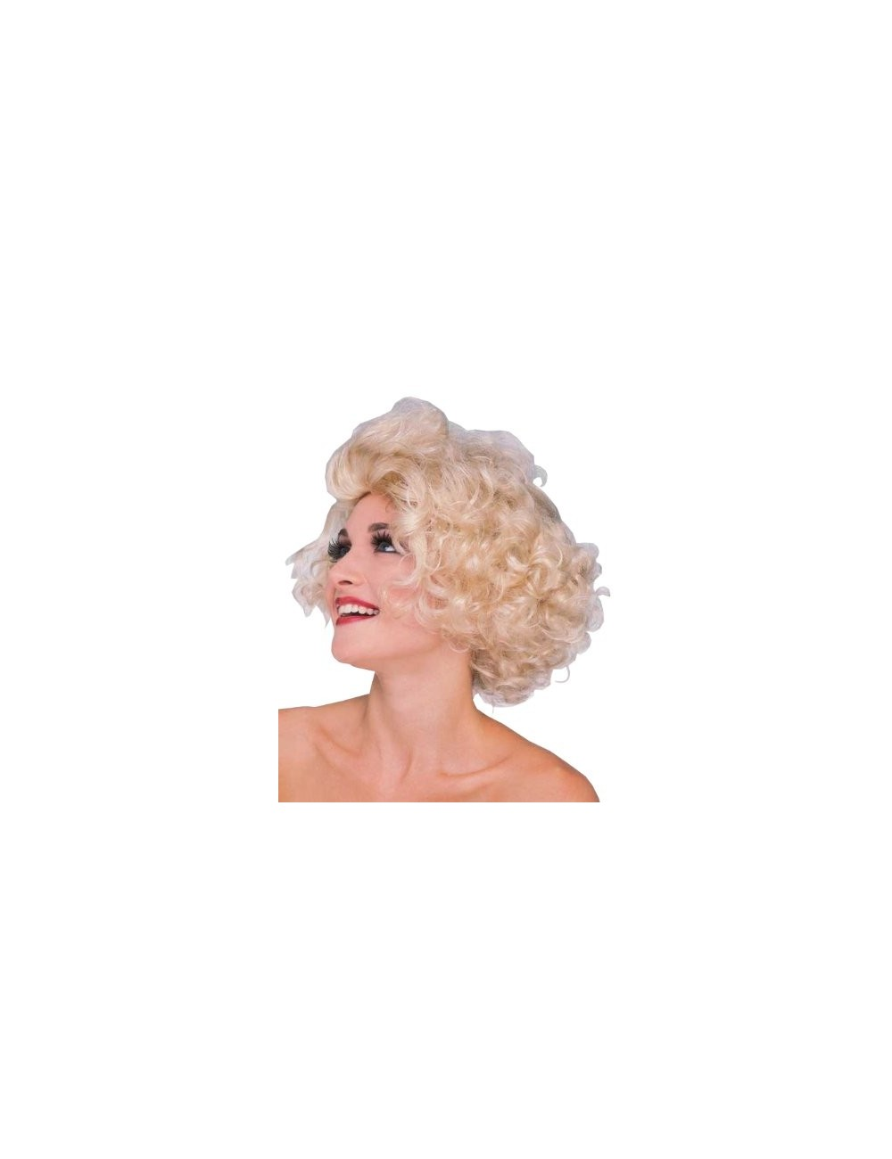 Peruca Par Scurt Blond Ondulat Star Hollywood 50833