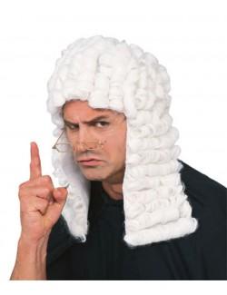 Peruca de judecator Rubie's