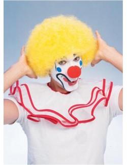 Peruca clown galbena 50766