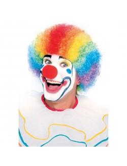 Peruca multicolora clown, Rubie's