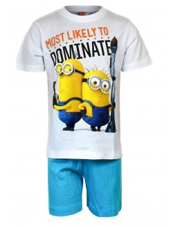 "Pijama vara copii, Minions ""Most likely to Dominate"""
