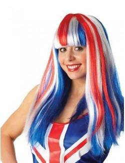 Peruca multicolora, Britania Union Jack