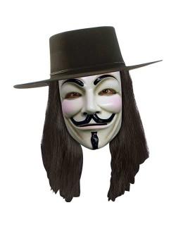 Peruca V for Vendetta adulti