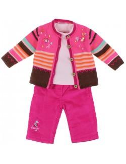 Set haine 3 piese: Pulover, Bluza, Pantaloni captusiti