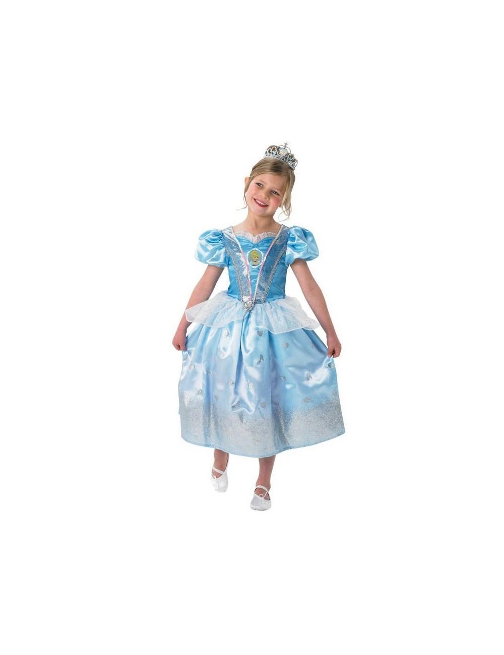Costum serbare Rochie Cenusareasa Glitter, 7-8 ani