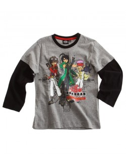 Bluza maneca lunga Bakugan Battle Brawlers