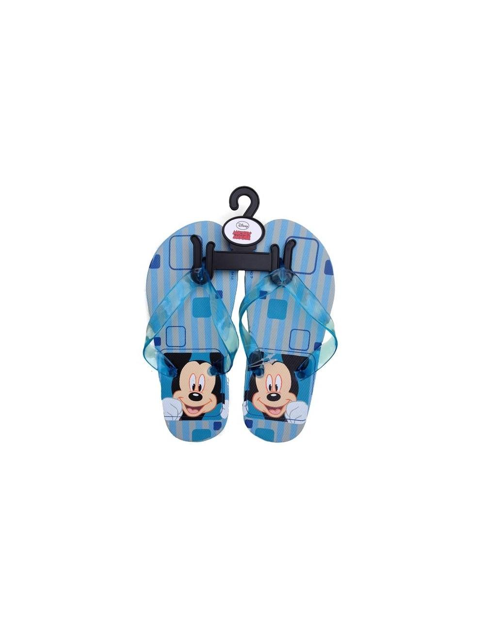 Papuci de plaja flip-flop Mickey Mouse