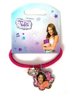 Bratara roz elastica- Disney Violetta