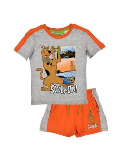 Set vara: Tricou si pantaloni scurti Scooby Doo Fotograf OE1417