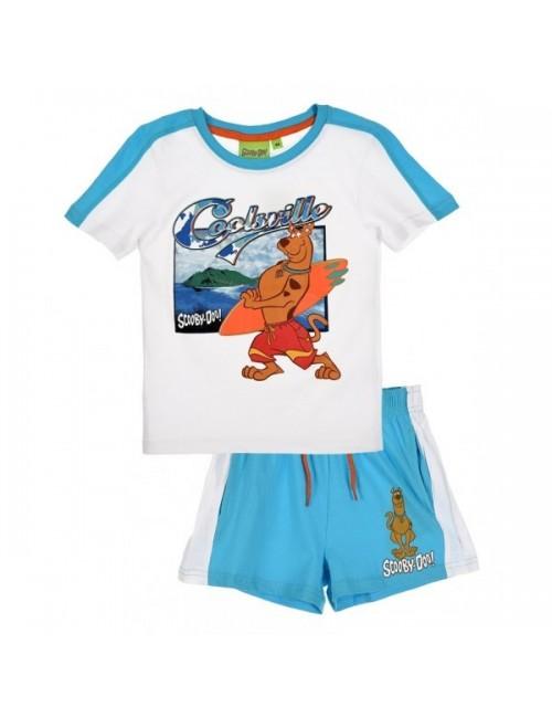 Set vara: Tricou si pantaloni scurti Scooby Doo Surfer OE1417