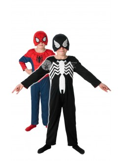 Costum Ultimate Spiderman, reversibil