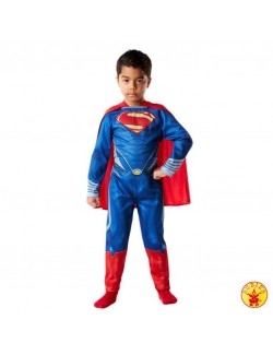 Costum copii, Superman Clasic - Man of Steel. 3-8 ani