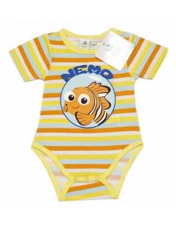 Body Disney Nemo, galben, maneca scurta, 3 -23 luni