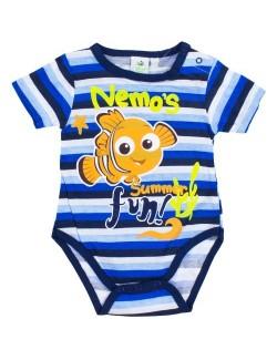Body bebelusi, Pestisorul Nemo, albastru - alb
