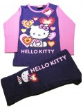 Pijama copii, Hello Kitty, maneca lunga