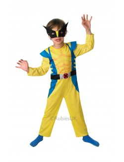 Costum carnaval Wolverine Clasic X-Men