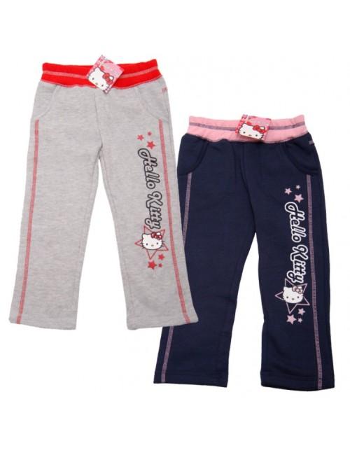 Pantaloni sport pentru fete, Hello Kitty, 3-8 ani