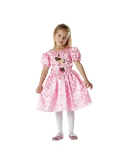 Costum Minnie Mouse Classic roz, 5-6 ani