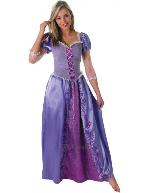 Costum carnaval femei Disney Printesa Rapunzel  887193