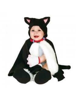 Costum bebelusi Poncho Pisicuta Rubies