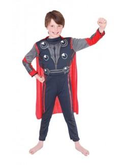 Costum carnaval pentru copii Avengers Thor Deluxe 881313