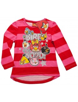 "Bluza fete, Angry Birds ""Bird is the Word!"", 4-10 ani"