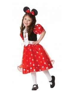 Costum carnaval: Rochita Minnie Mouse Red Spotty