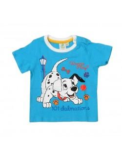 Tricou bebelusi albastru 101 Dalmatieni