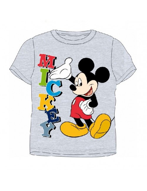 Tricou copii Disney Mickey Mouse  4 - 8 ani, gri