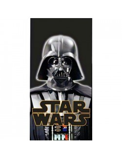 Prosop plaja Darth Vader Star Wars, 70x140 cm