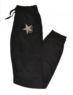 Pantaloni sport pentru fete de 9 - 15 ani Pretty Star