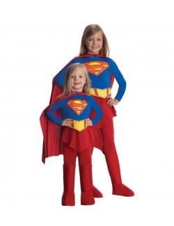 Costum carnaval fete Supergirl Deluxe Rubie's 885215
