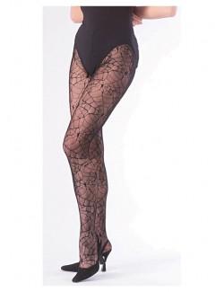 Ciorapi plasa de paianjen, negri, pentru femei Rubie's 913
