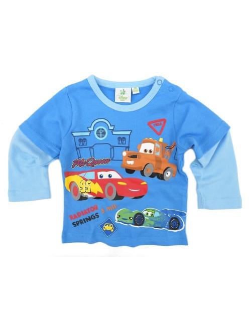Bluza bebelusi Disney Cars, albastra