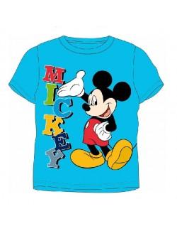Tricou copii Disney Mickey Mouse 4 - 8 ani, albastru