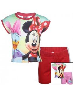 Set haine: Tricou si pantaloni scurti Minnie & Daisy D33567