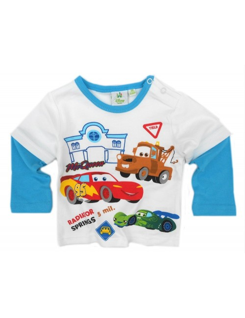 Bluza Disney Cars bebelusi 6-23 luni, alba