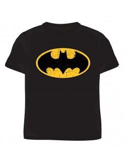 Tricou negru pentru copii de 9 ani - 14 ani Batman