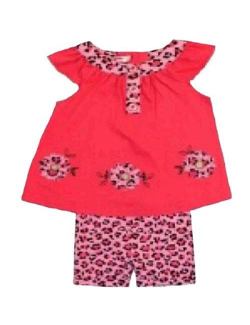 Set haine vara: bluza si colati 3/4 pentru bebelusi 3 - 24 luni
