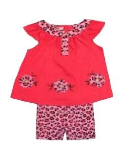 Set haine vara: bluza si colanti 3/4, bebelusi 3 - 24 luni