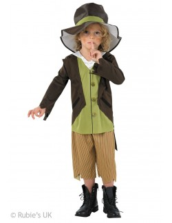 Costum carnaval Victorian Pickpocket (Oliver Twist) 881683