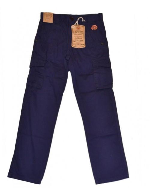 Pantaloni din bumbac, colorati, pentru copii - E-Bound