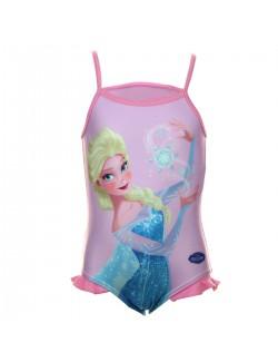 Costum baie Elsa Disney Frozen, fete 2 -8 ani
