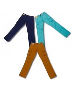 Pantaloni din bumbac, colorati, pentru copii - E Bound