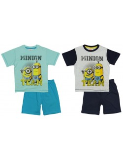 Pijama vara copii Minion Team Despicable Me