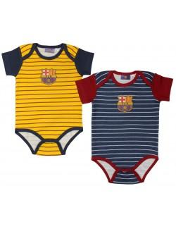 Body maneca scurta F.C. Barcelona marimi 68 - 86