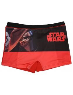 Slip baie tip boxeri, rosu, Star Wars, copii 4-8 ani