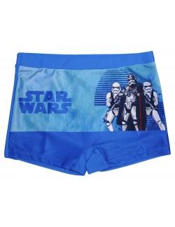 Slip baie tip boxeri, albastru, Star Wars, copii 4 ani