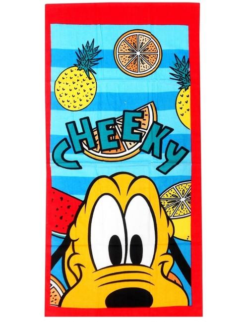 Prosop plaja bumbac Pluto Cheeky 70x140 cm